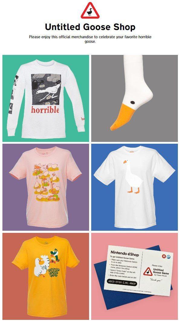 目前的周邊商品,小邊個人覺得長袖衣服、襪子和純白鵝T都不錯!