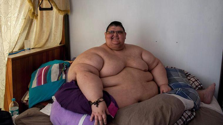 佛朗哥體重達500公斤以上,被金氏世界紀錄評為全球最肥胖的人。圖取自hindus...
