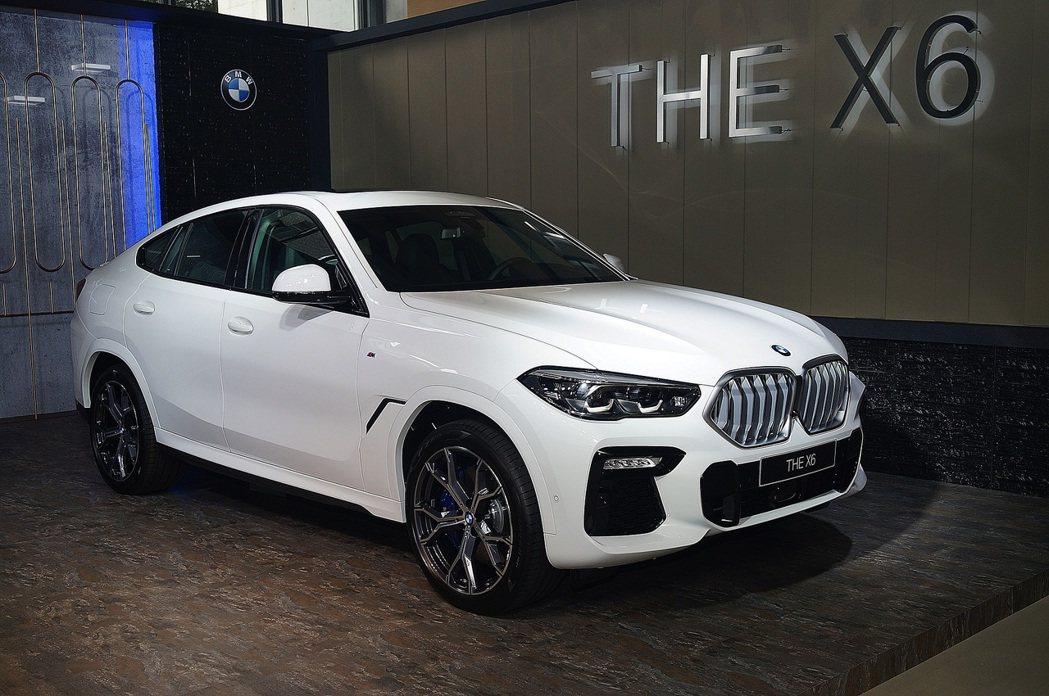BMW X6 xDrive40i M Sport。 記者趙駿宏/攝影