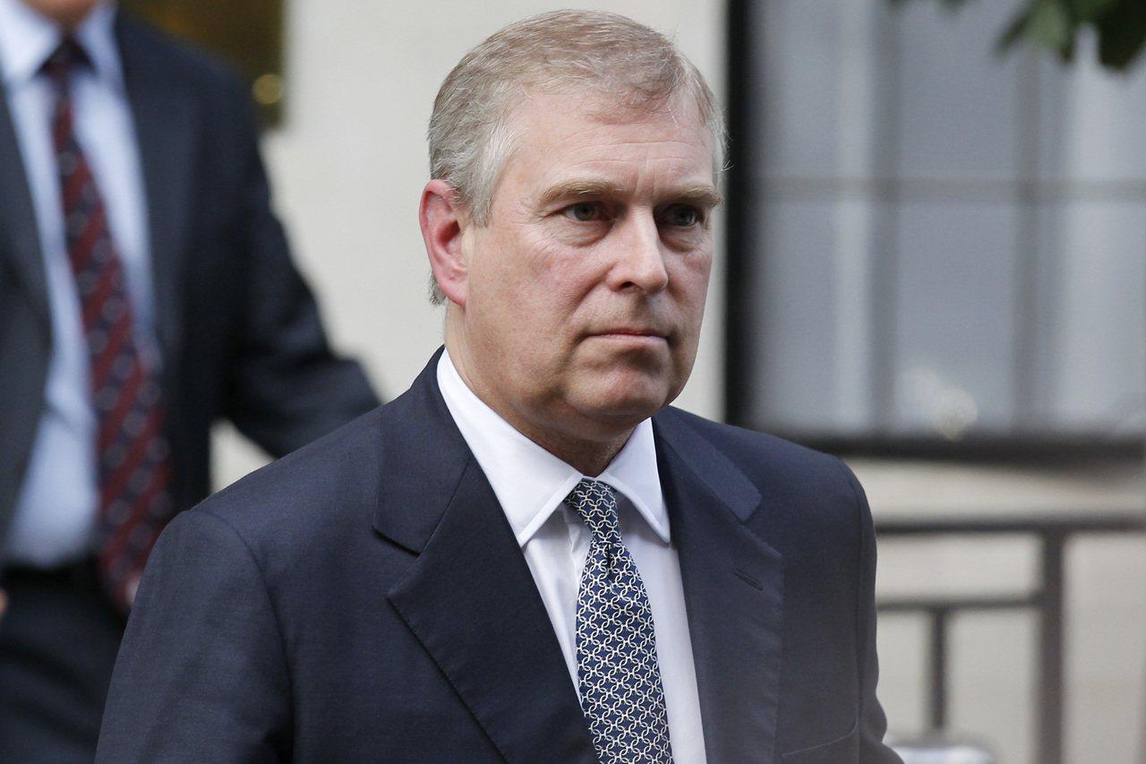 英國約克公爵安德魯王子。美聯社