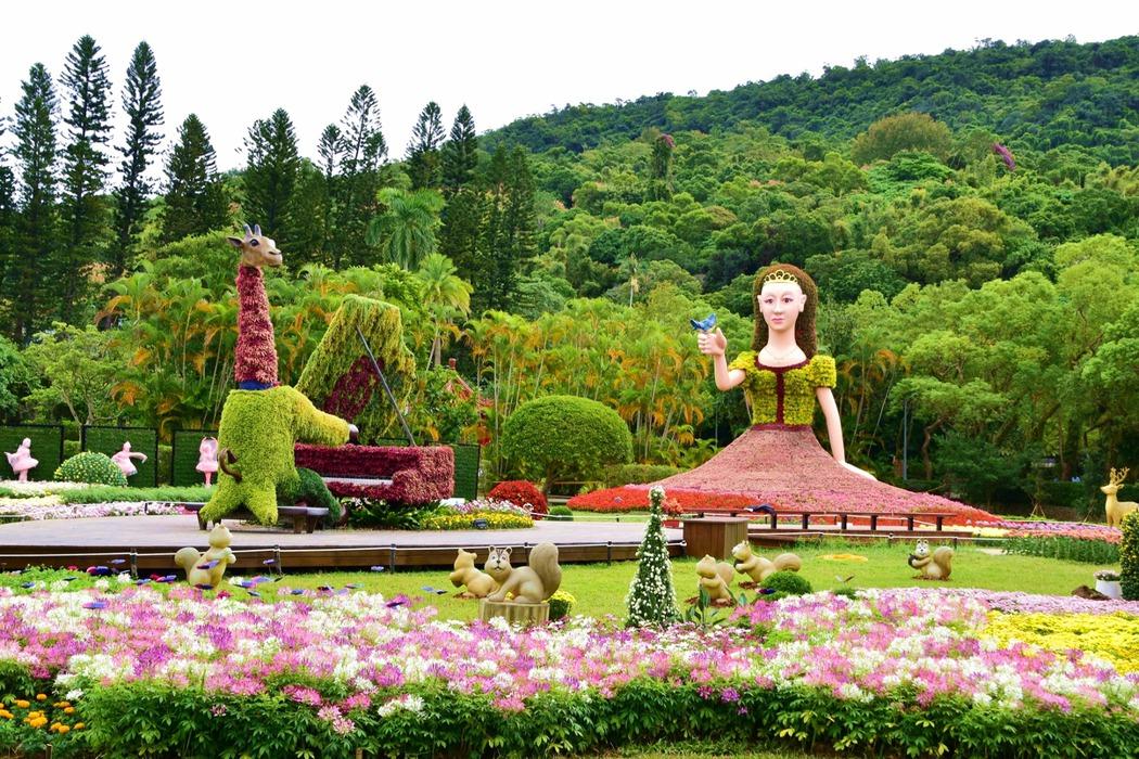 台北士林官邸「樂在菊中」秋天最盛大菊花展