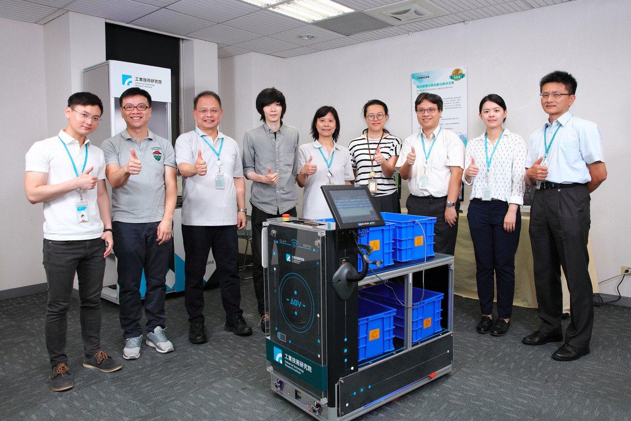 工研院打造「多元導航服務機器人」(iAGV)等多項智慧與自動化技術,成為物流業最...