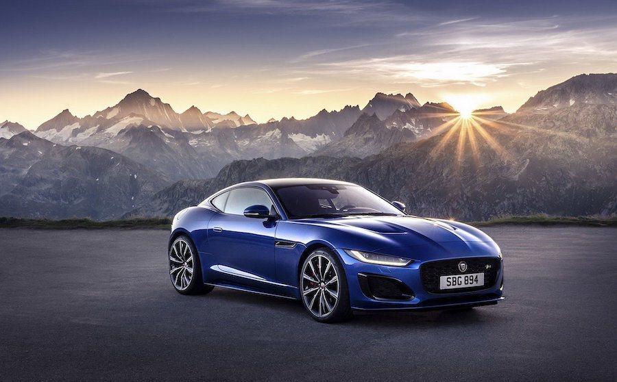 小改款Jaguar F-Type。 Jaguar提供