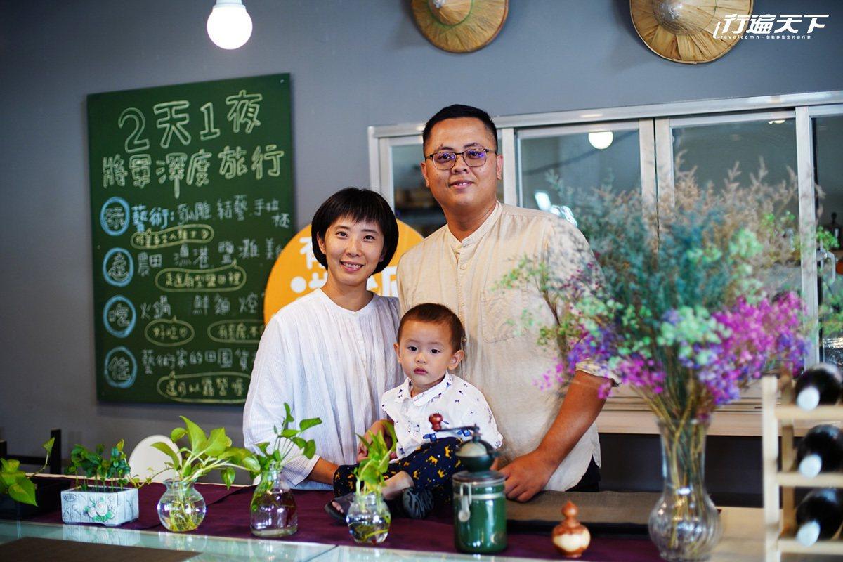 徐麗敏和蔡仕霖夫婦 返鄉創立地利小食。