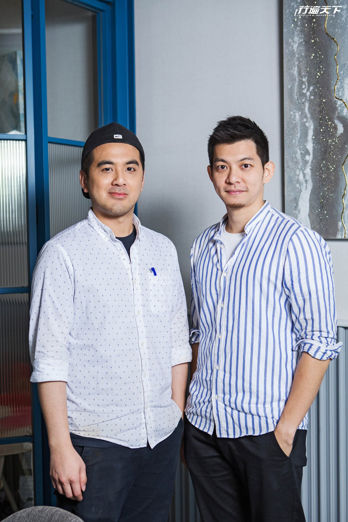 Ryan及Eddie覺得吃遍了世界還是最愛台灣味。