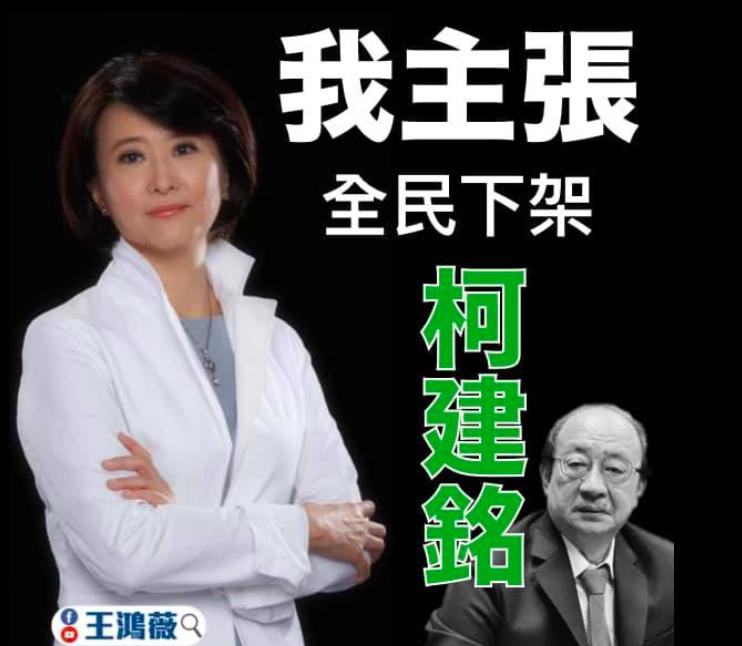 圖/擷取自王鴻薇臉書