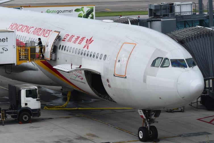 香港航空面臨被暫停或吊銷營業執照。香港中通社(資料圖片)