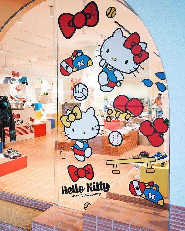徐濠縈自有品牌HER選品店與凱蒂貓Hello Kitty推出聯名系列。圖/摘自H...