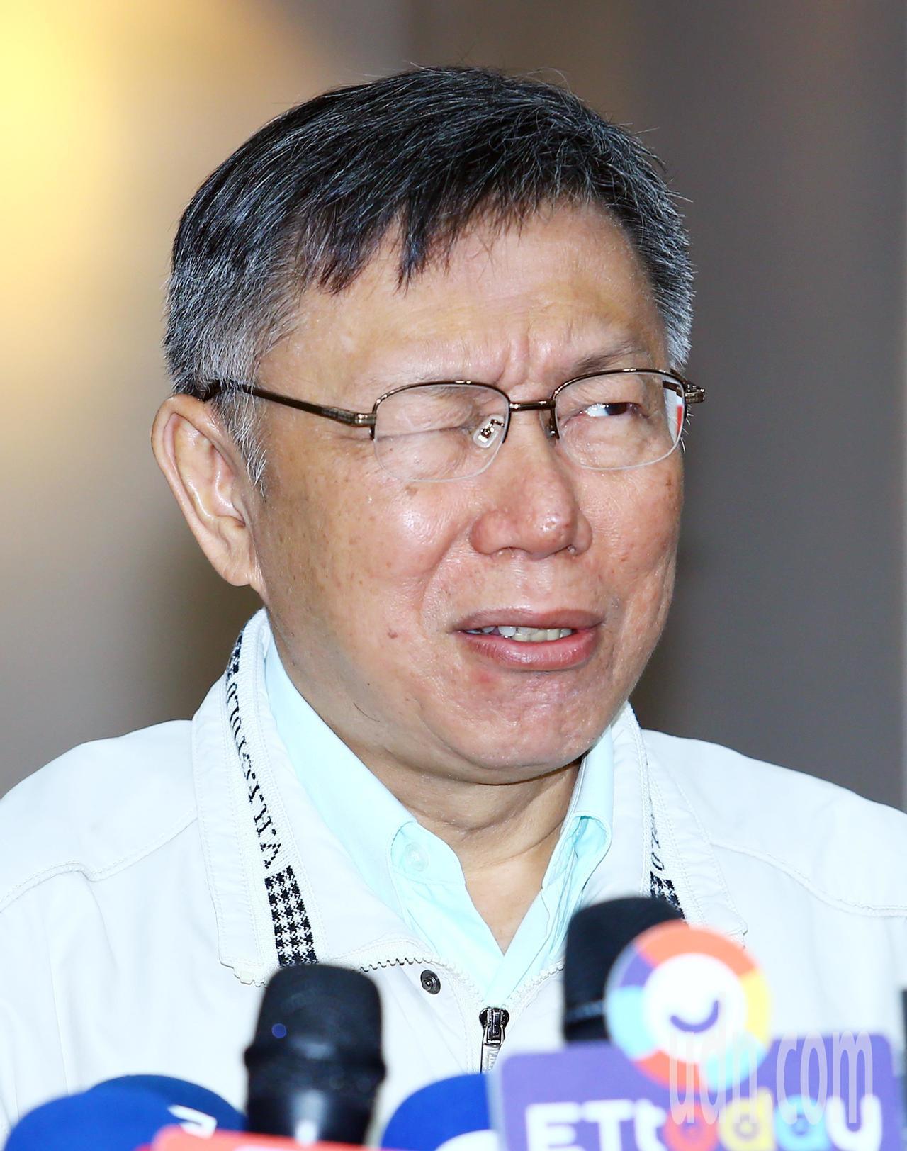 有關楊蕙如被起訴,柯文哲說,他不相信楊蕙如會自己拿錢出來收買下線養網軍,一定是上...