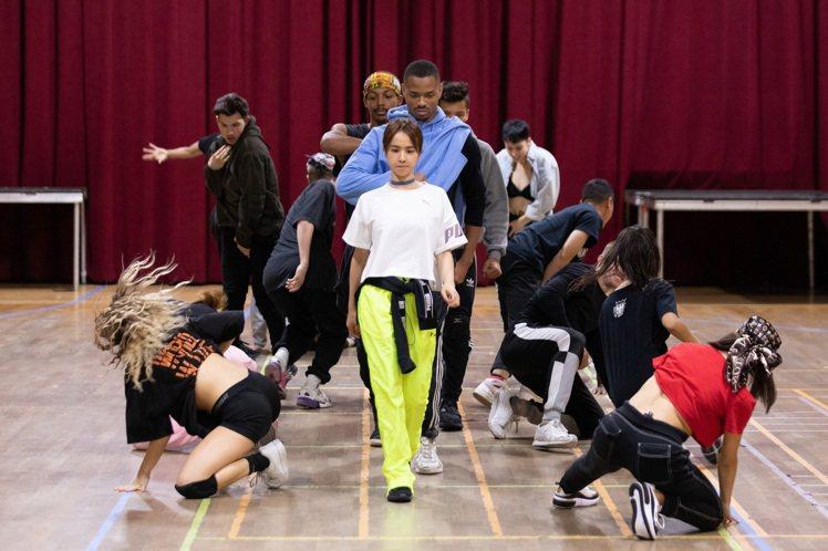 蔡依林近來專心在 LA 練舞。圖/凌時差提供