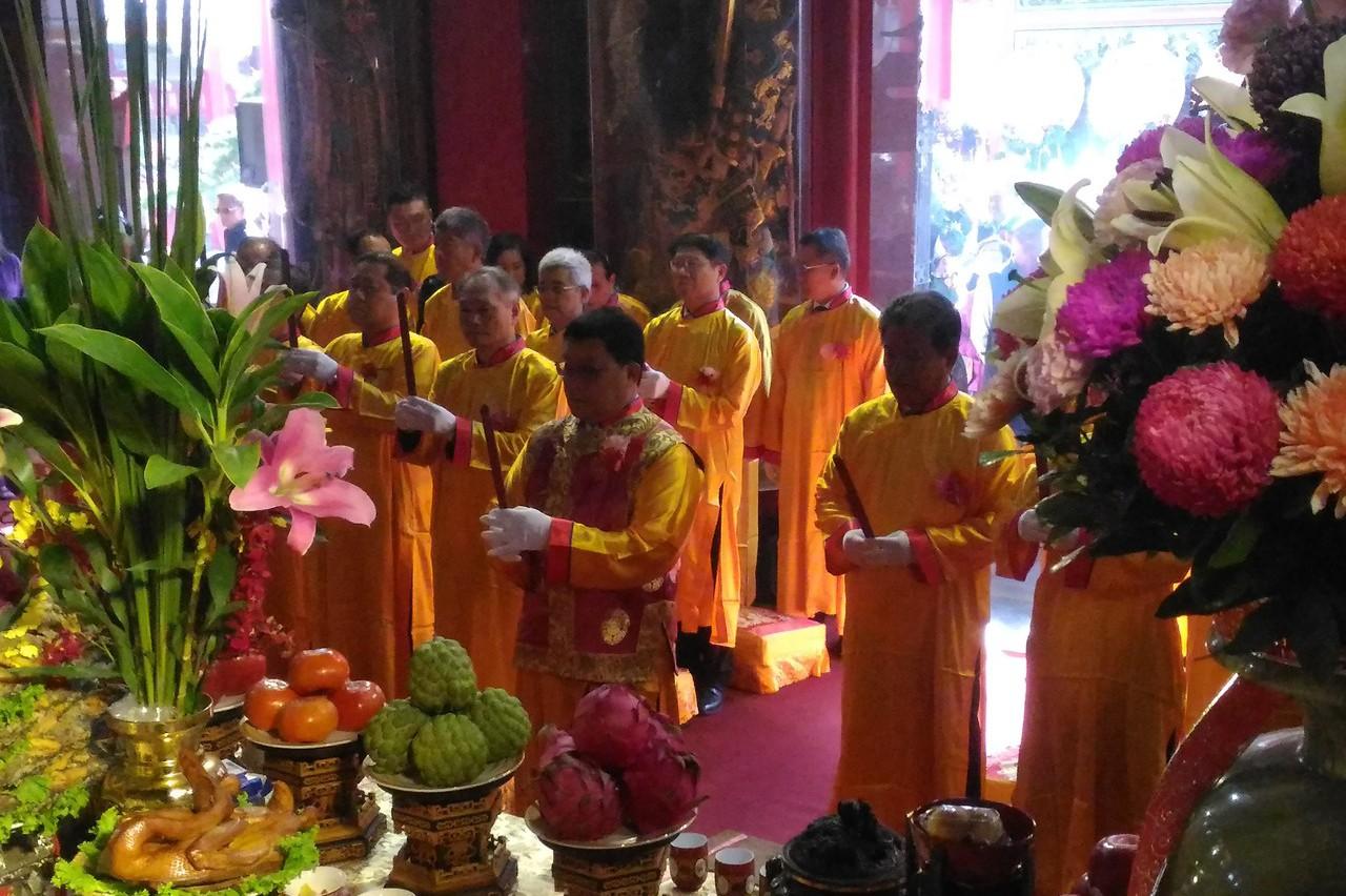 台南市鹿耳門聖母廟安座38周年大典 親善大使吸睛