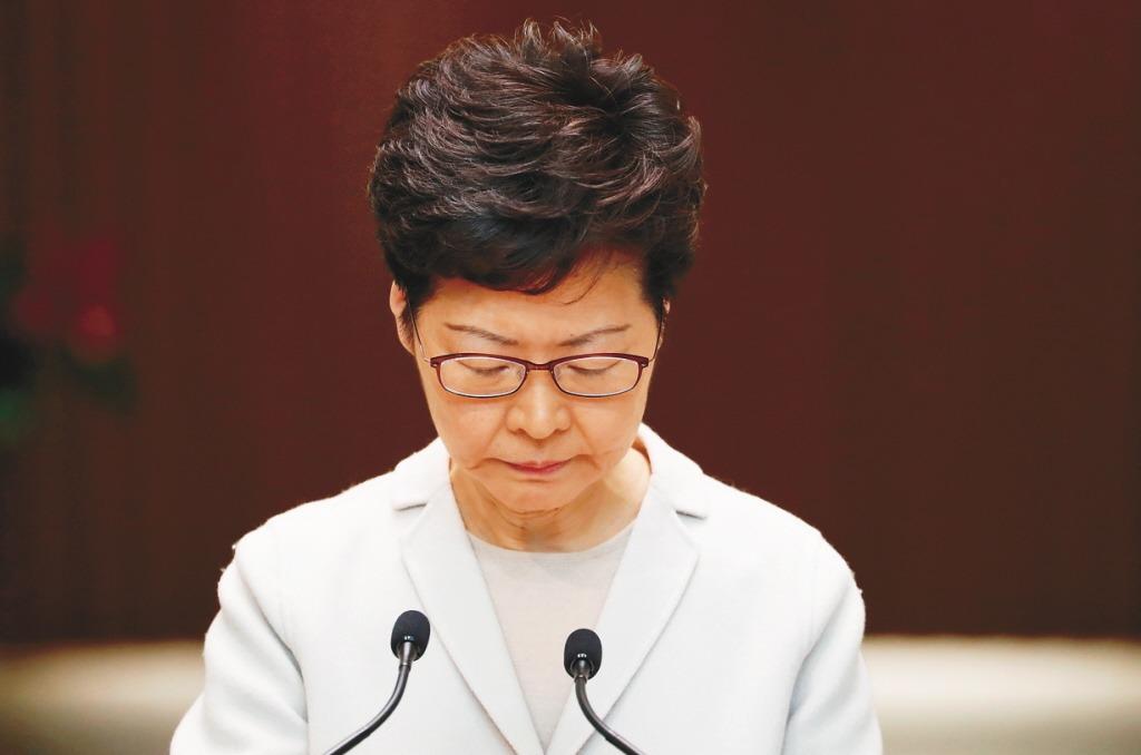 林鄭:香港享受多方自由 美國法案「沒有必要」