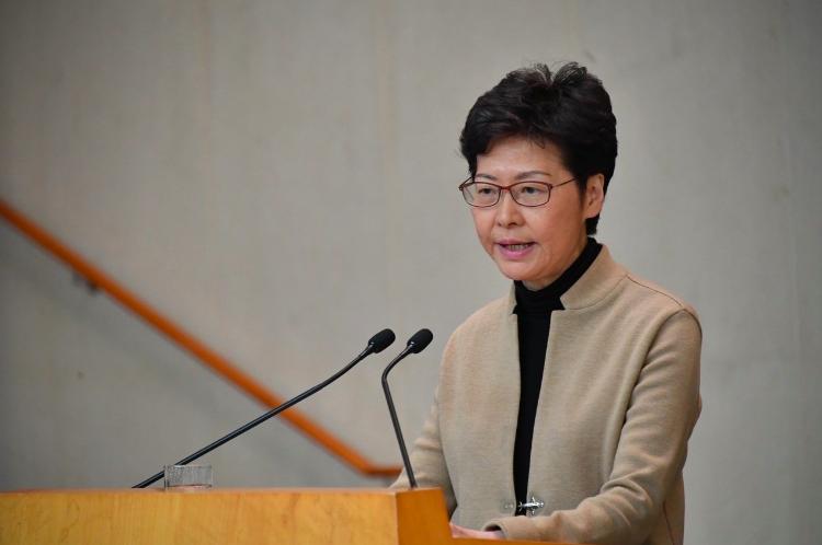 美對港實施人權法案 林鄭月娥:影響信心