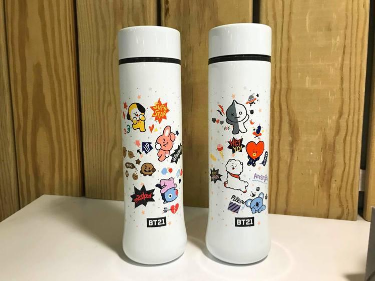 全家便利商店App將於12月4日起推出「BT21」保溫瓶會員集點加價購。記者陳立...