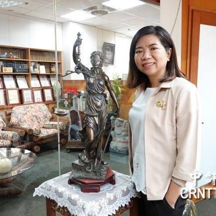 新黨不分區立委提名人、律師陳麗玲。取自臉書