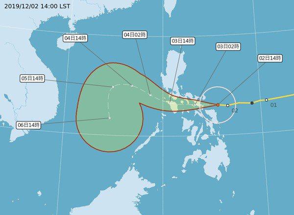 北冕颱風撲菲律賓,雖對台灣沒有影響,但若要搭機往返菲律賓的旅客,需特別留意航班資...