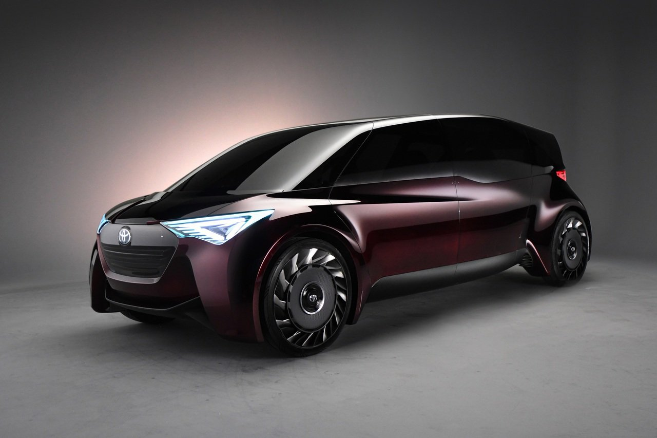 2020 TOYOTA 車展將展出自動駕駛氫燃料電池車TOYOTA FINE-C...