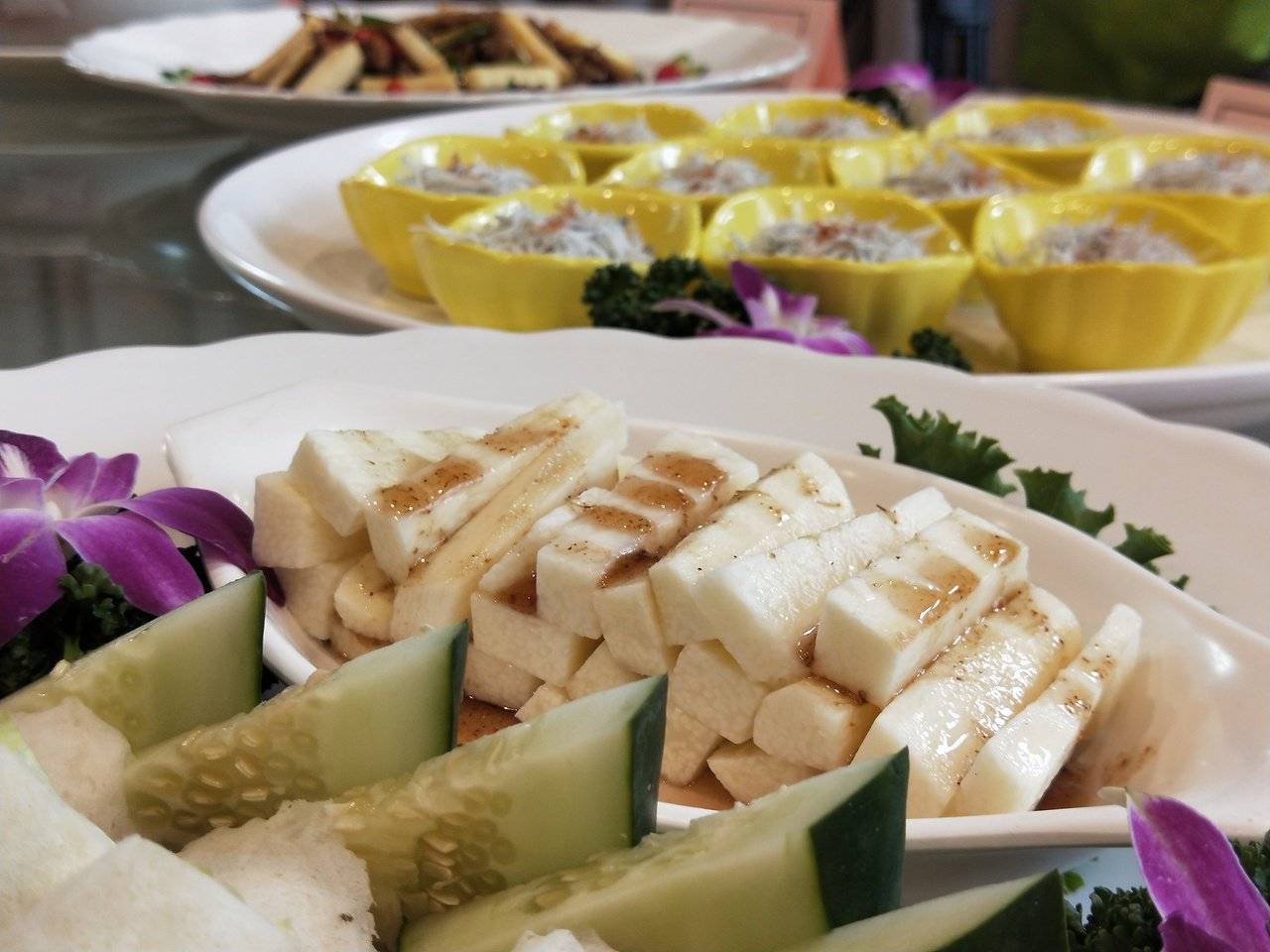 基隆市山藥大餐將在14日晚間在基隆港海產樓登場,席開100桌。記者游明煌/攝影