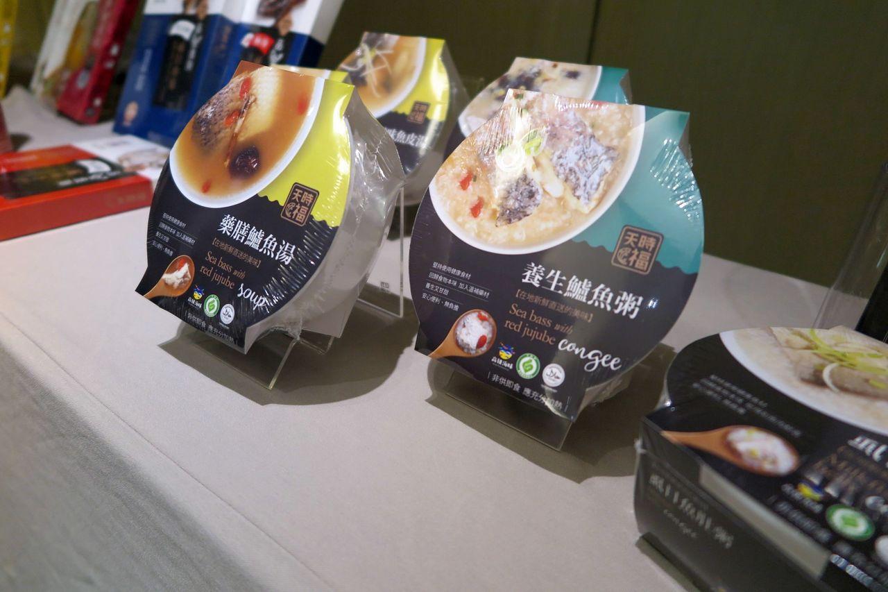 部分業者開發的優質水產品,也在飯店及大型賣場上架。記者王昭月/攝影
