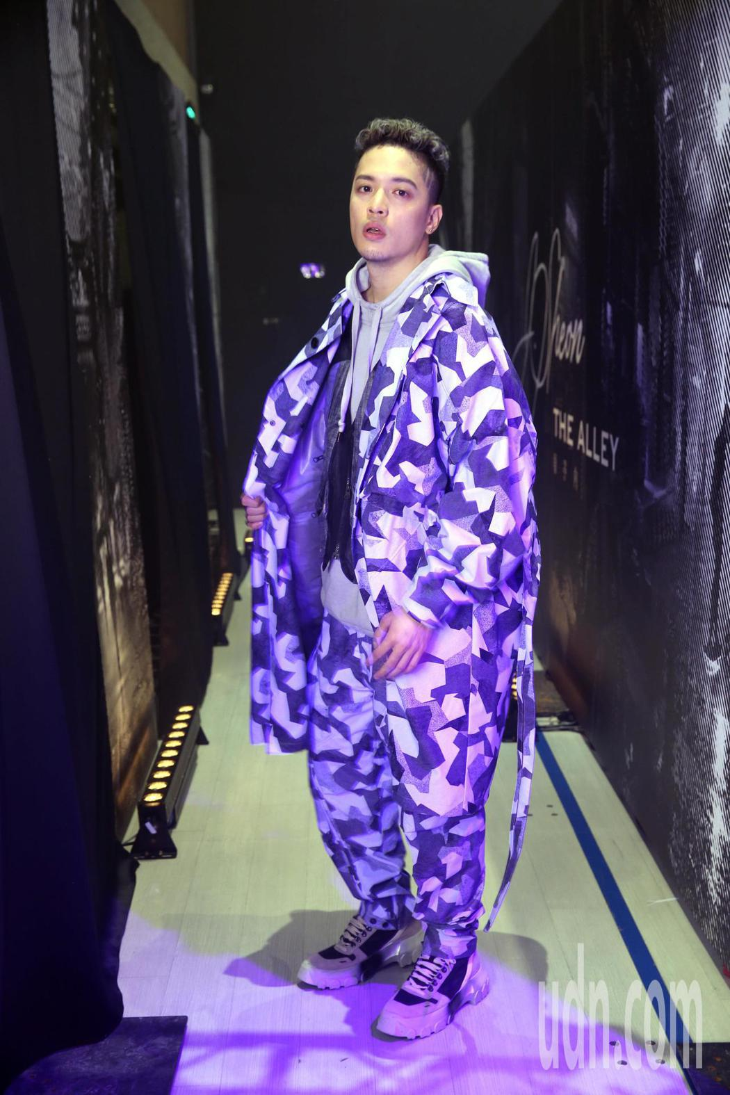 J.Sheon舉行新專輯「巷子內」發表party。記者邱德祥/攝影