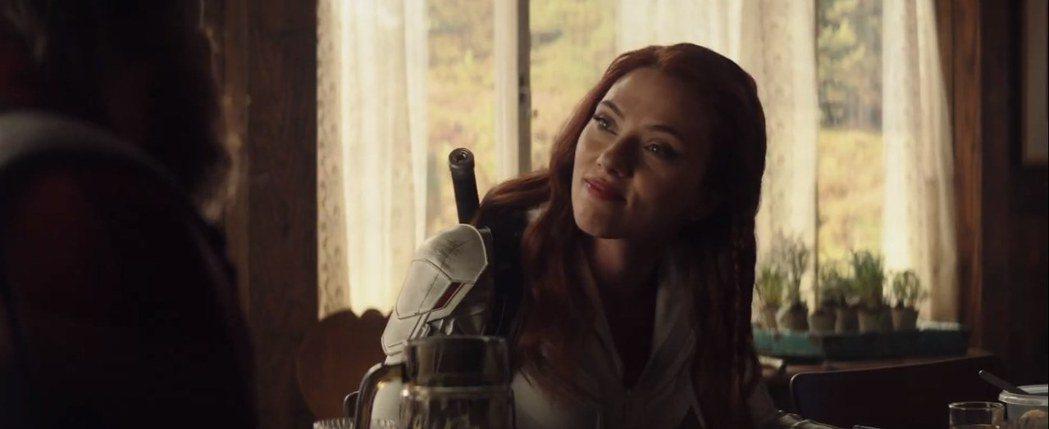思嘉莉約翰森主演「黑寡婦」預告上線。圖/Youtube截圖