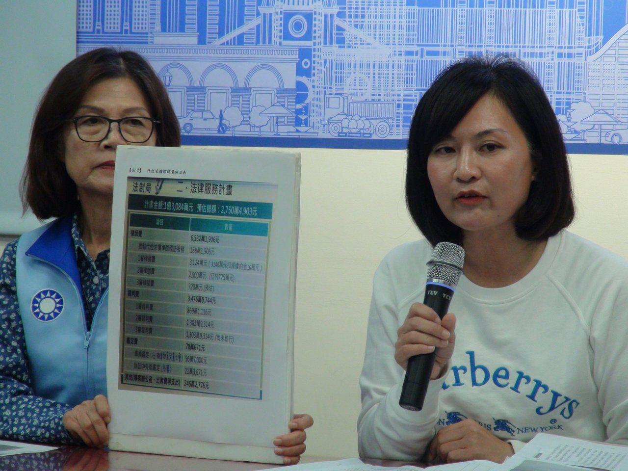 高雄市議會員陳麗娜今天下午再度提出高雄氣爆案,前高雄市政府代位求償,以「一案 1...