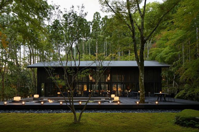 被庭園與森林所環繞的安縵京都,乃是安縵在日本的第三座度假村。圖/安縵京都提供