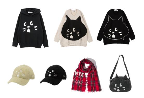 NYA-日本限定當季秋冬服飾新品。圖/新光三越提供