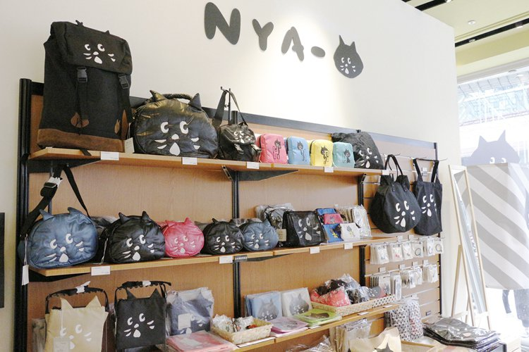 NYA-期間限定快閃店周邊商品。圖/新光三越提供