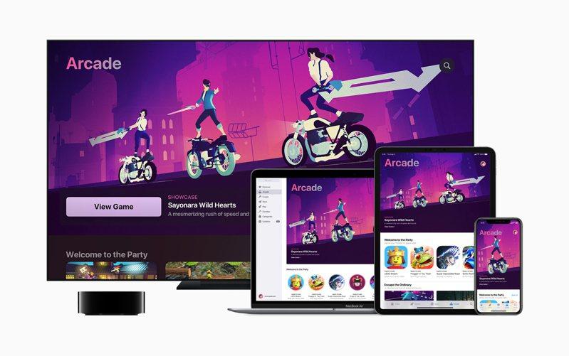 「Sayonara Wild Hearts」獲選Apple Arcade年度最佳遊戲。圖/蘋果提供