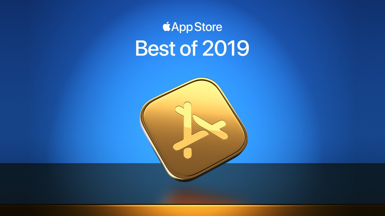 Apple今宣布2019年度最佳App與遊戲名單。圖/蘋果提供
