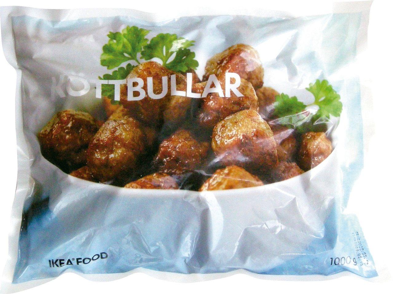 瑞典肉丸是IKEA瑞典食品超市隱藏版高CP食材第一名,售價300元。圖/IKEA...