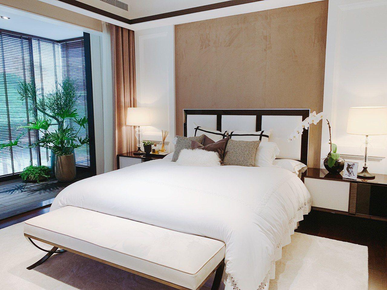 寬敞臥室提供住戶絕佳入住體驗。圖/宏普頤和提供