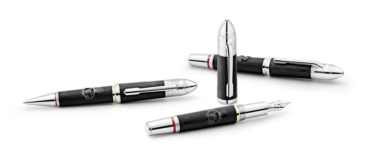 萬寶龍,華特迪士尼特別款筆具,價格約2萬4,900至3萬2,500元。圖╱萬寶龍...