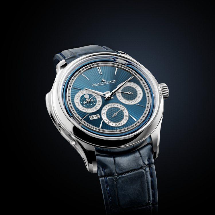 積家,超卓傳統三問大師系列萬年曆腕表,具備時間顯示、萬年曆、三問報時功能,限量3...