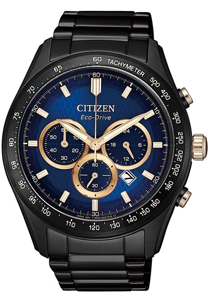 星辰表CA4458-88L腕表,黑色BIP不鏽鋼表殼、表鍊,亞洲限定,15,50...