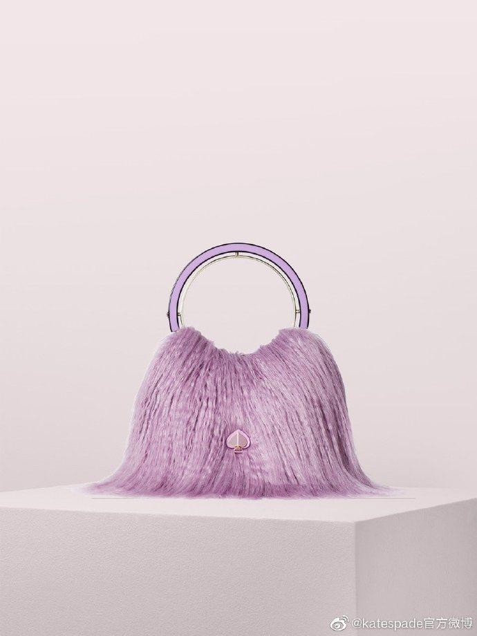 Kate Spade Betty皮草手拎袋,售價人民幣3,000元、約台幣13,...