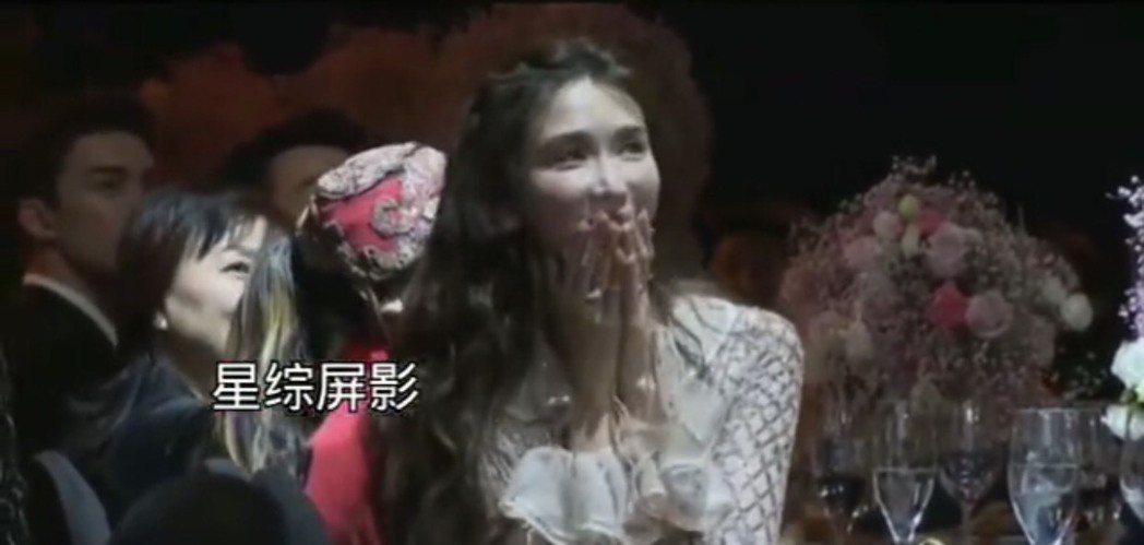 林志玲參加上海時尚活動。圖/摘自微博