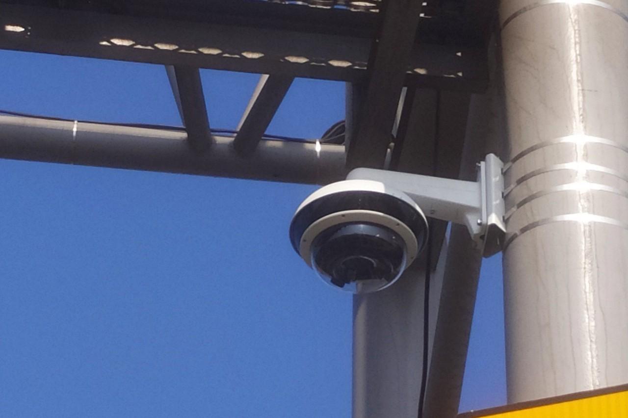 等著開張 西濱鹿港到伸港北上區間測速系統完成了