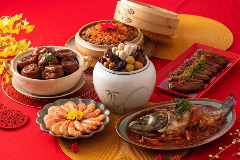 主菜為佛跳牆的極品御膳六菜宴,早鳥價2999元。圖/王品提供