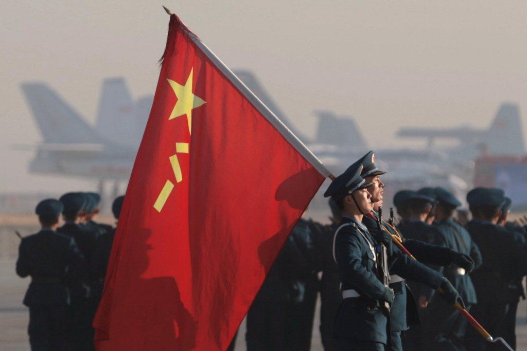 中國大陸人民解放軍。路透