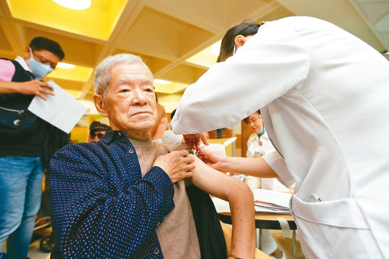 公費流感疫苗 老人、幼童8日開打
