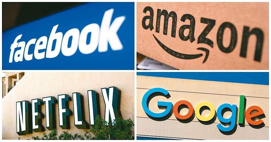 法國向Google、NETFLIX、臉書、亞馬遜等美企開徵數位服務稅,引起美國威...