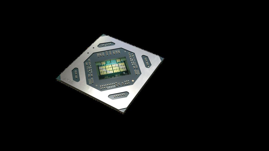 Radeon RX 5500M。 超微/提供