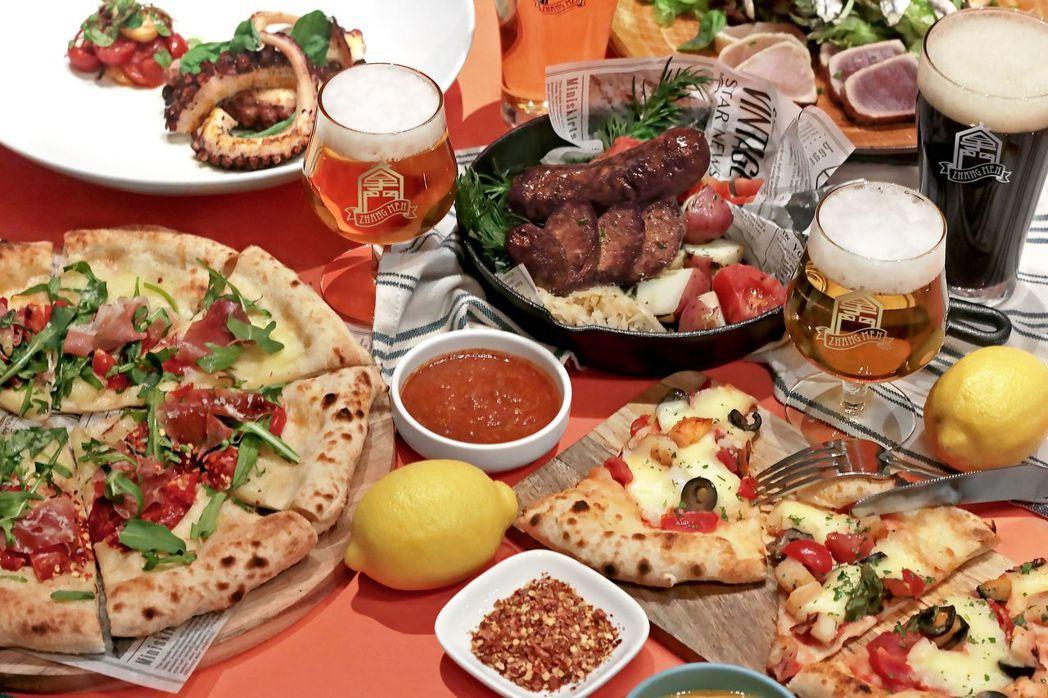 「調皮腹黑腸」與「醉對味趴呢組合套餐」。  台南煙波大飯店 提供