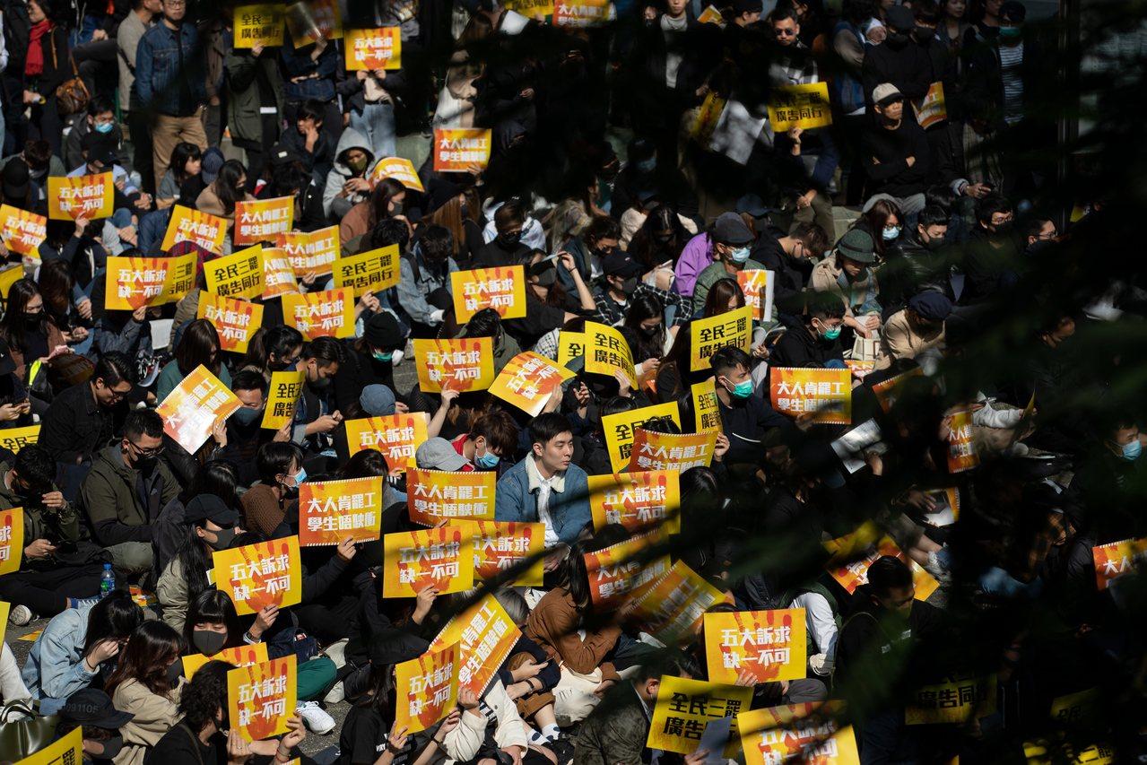 批美「香港人權法」 林鄭:配合北京反制 歐新社