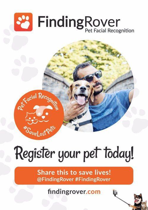 德州的布蘭諾市和應用程式Finding Rover合作,只要將狗的照片和其他資訊...