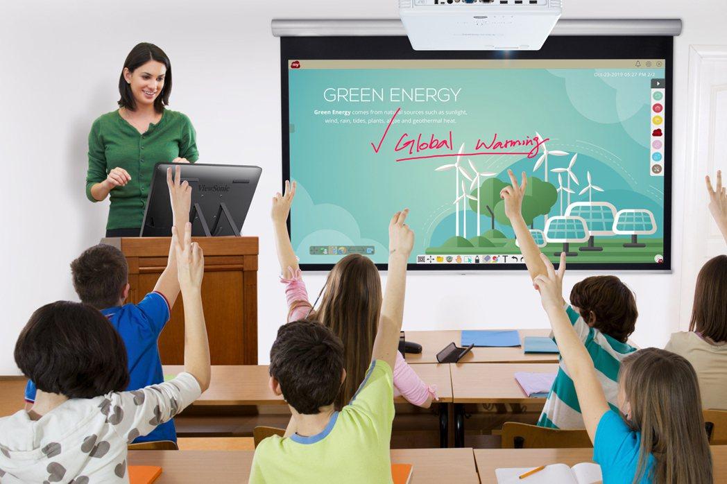 ViewSonic已整合硬體、軟體和生態圈提供完整教育科技(EdTech)解決方...