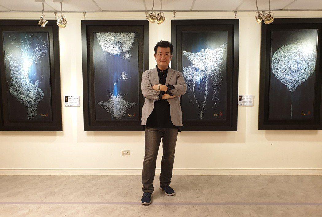 台灣、日本美術協會新任理事長林吉裕。鄭芝珊/攝影
