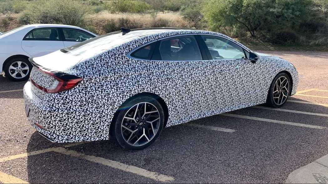最大馬力上看290hp的Hyundai Sonata N Line預計將於明年秋...